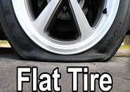 Can I Leave A Flat Tire Overnight?